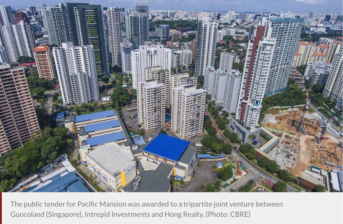Pacific Mansion sold for S980m in biggest collective sale in a decade