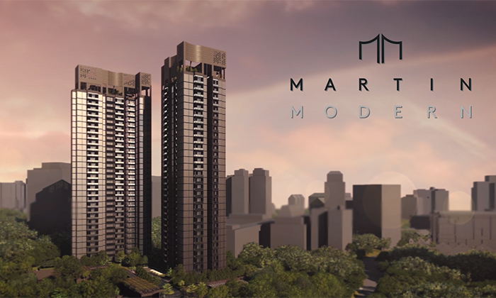 Singapore Property Launches - Martin Modern