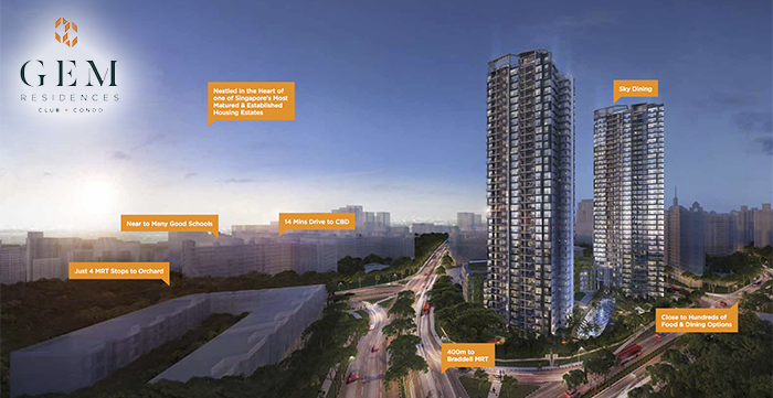 Singapore Property Launches - GEM Residences