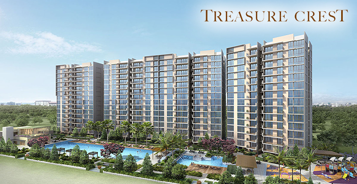 Singapore Property Launches - Treasure Crest EC
