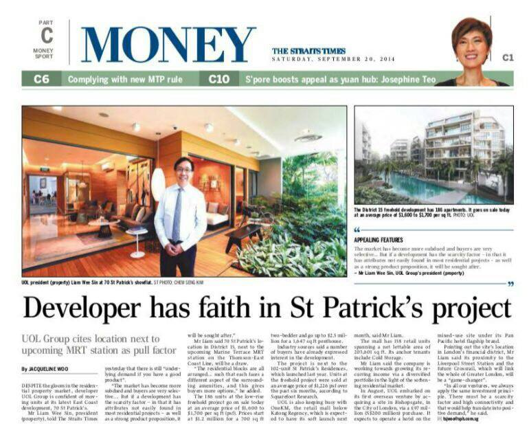 Developer has faith in St Patrick
