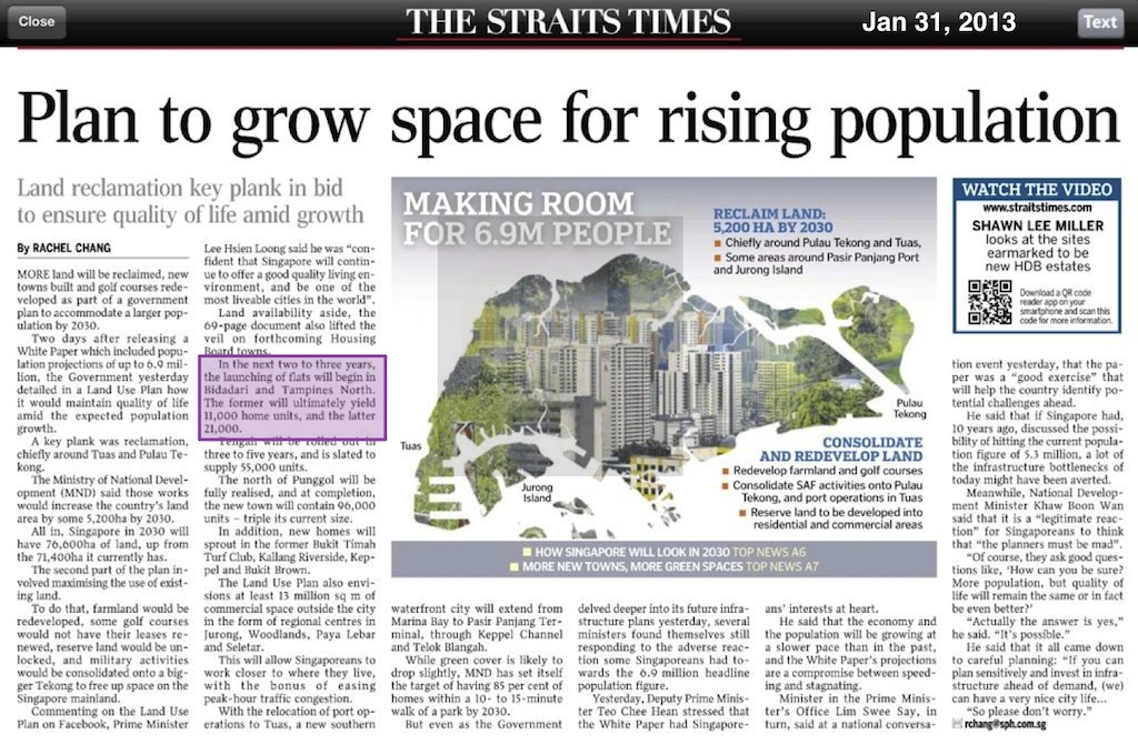 A Plan To Grow Space for Rising Population