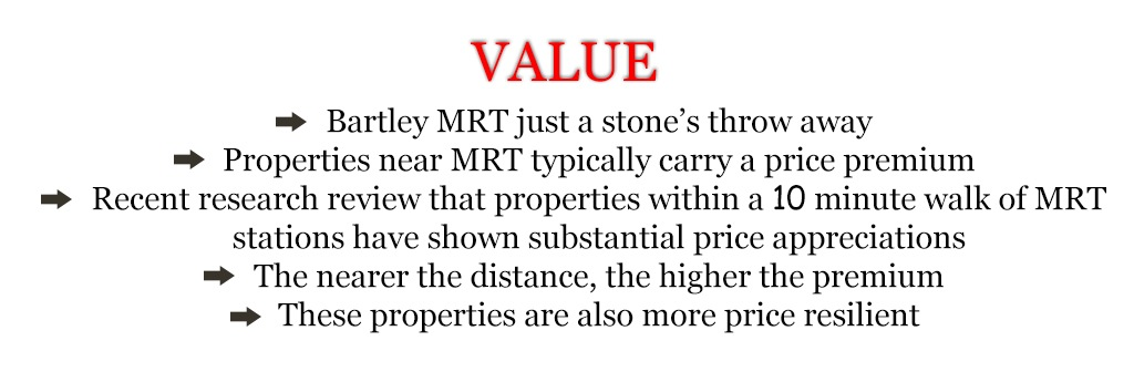 A Properties Near MRT Typically Carry A Price Premium