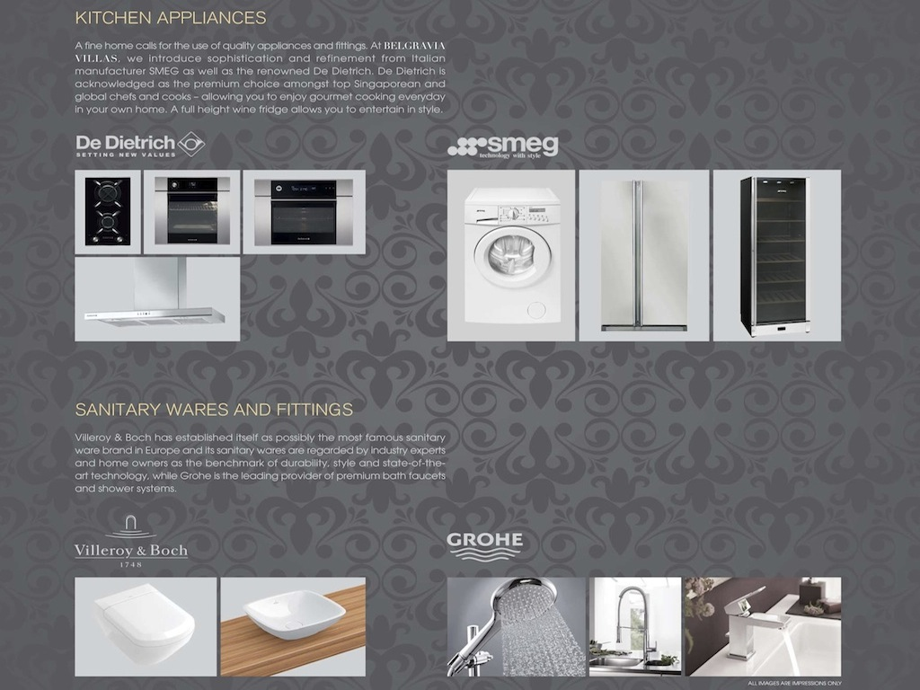 Belgravia Villas Appliances Wares