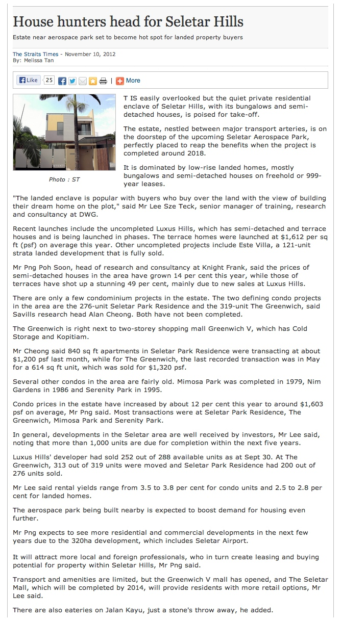 Belgravia Villas Article 1