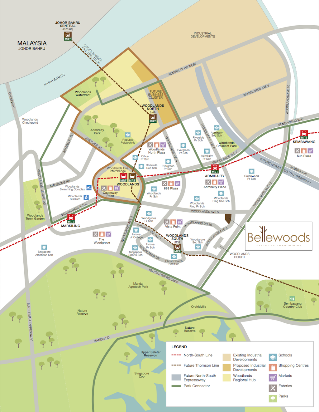 Bellewoods EC Location Map