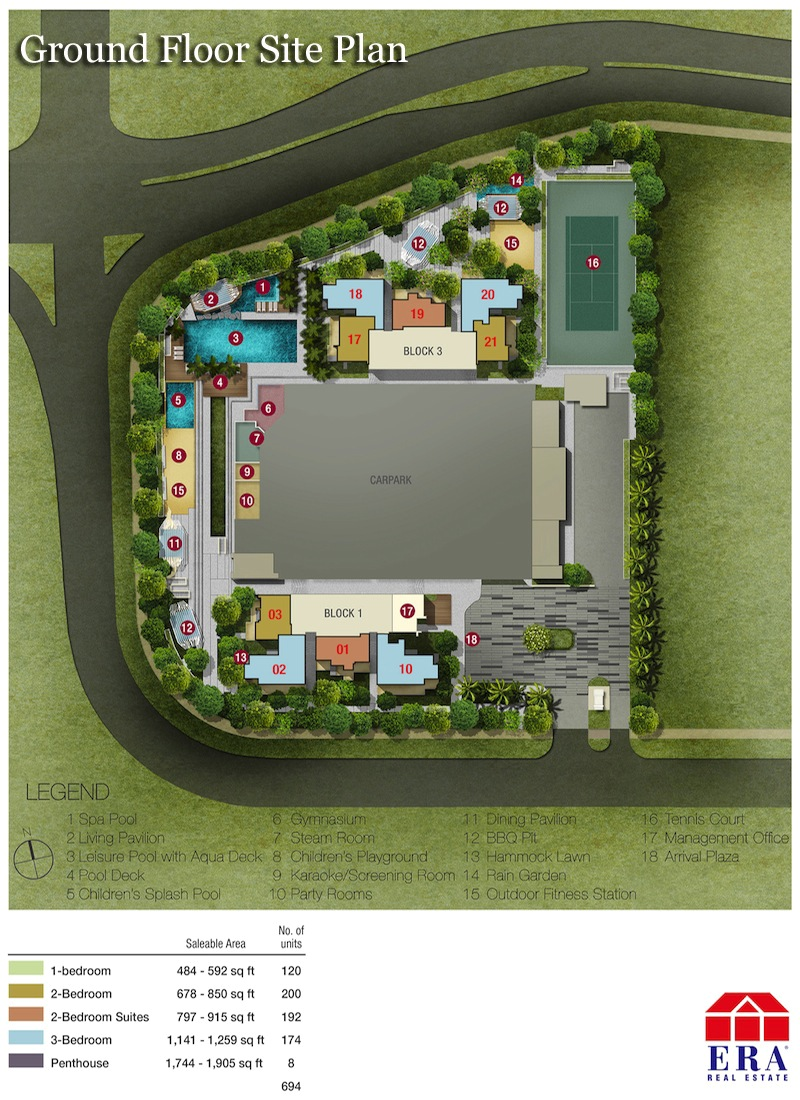 Sky2 Ground Floor Site Plan