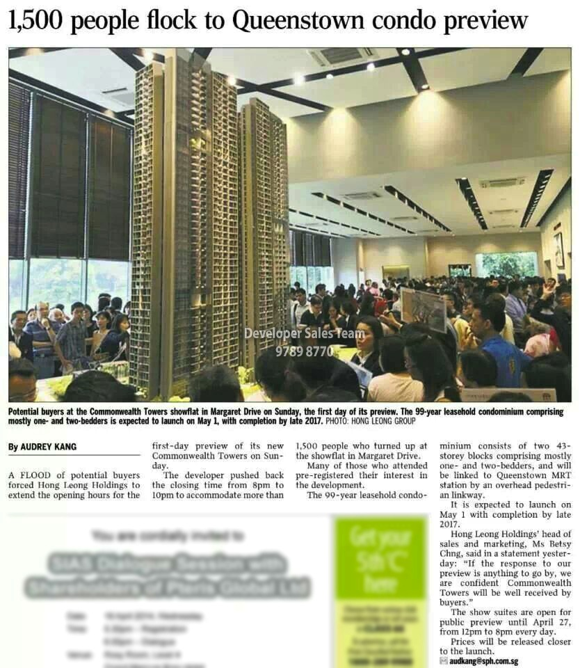 Article-4 1500 flocked to Commonwealth Towers during first day preview