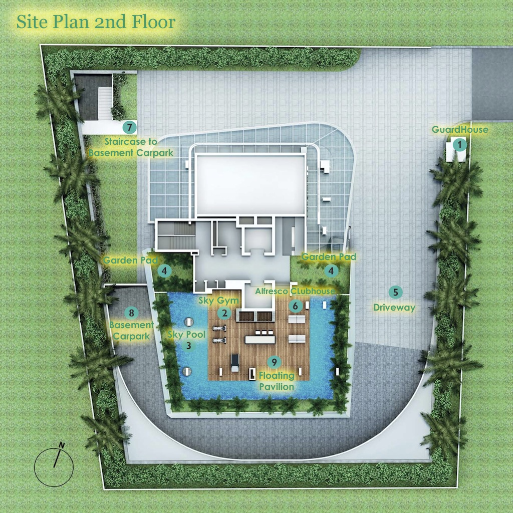 COSMOLOFT Siteplan 2nd Floor