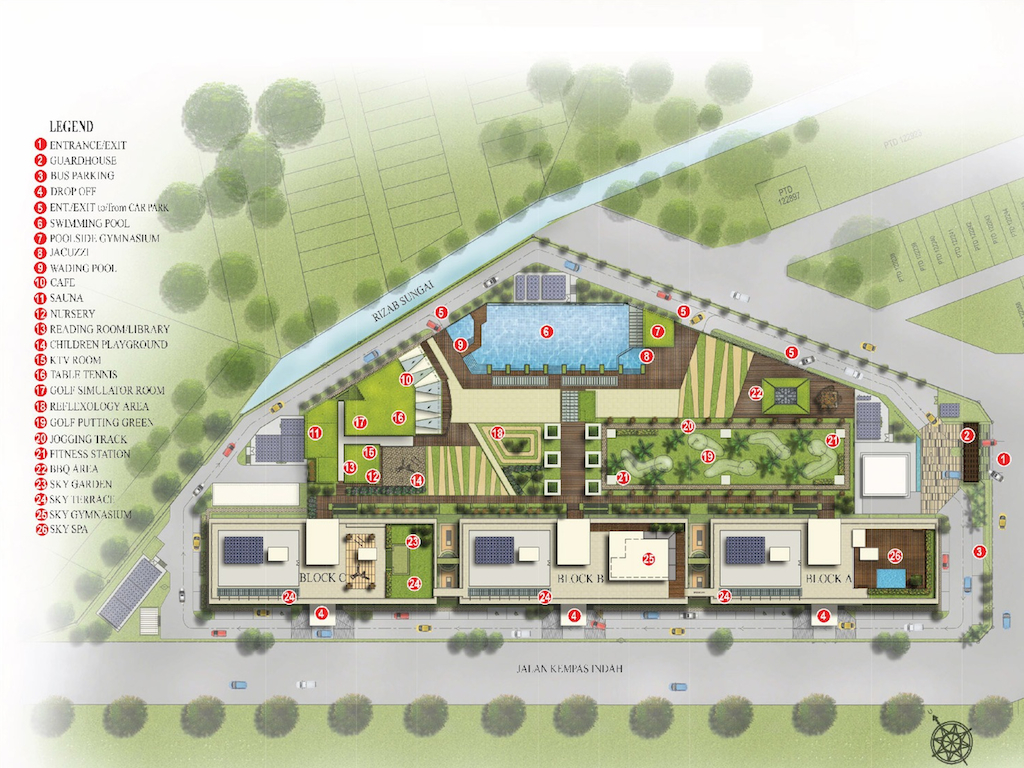 D-Secret Garden Site Plan