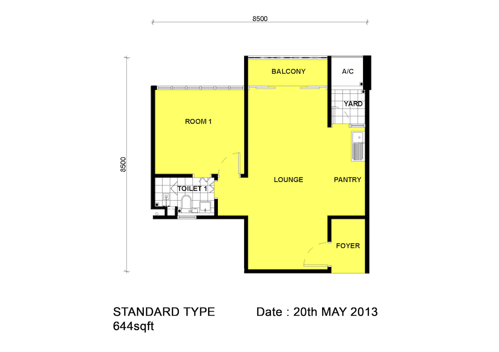 Dpristine-FLoor-Plan-1Bedroom