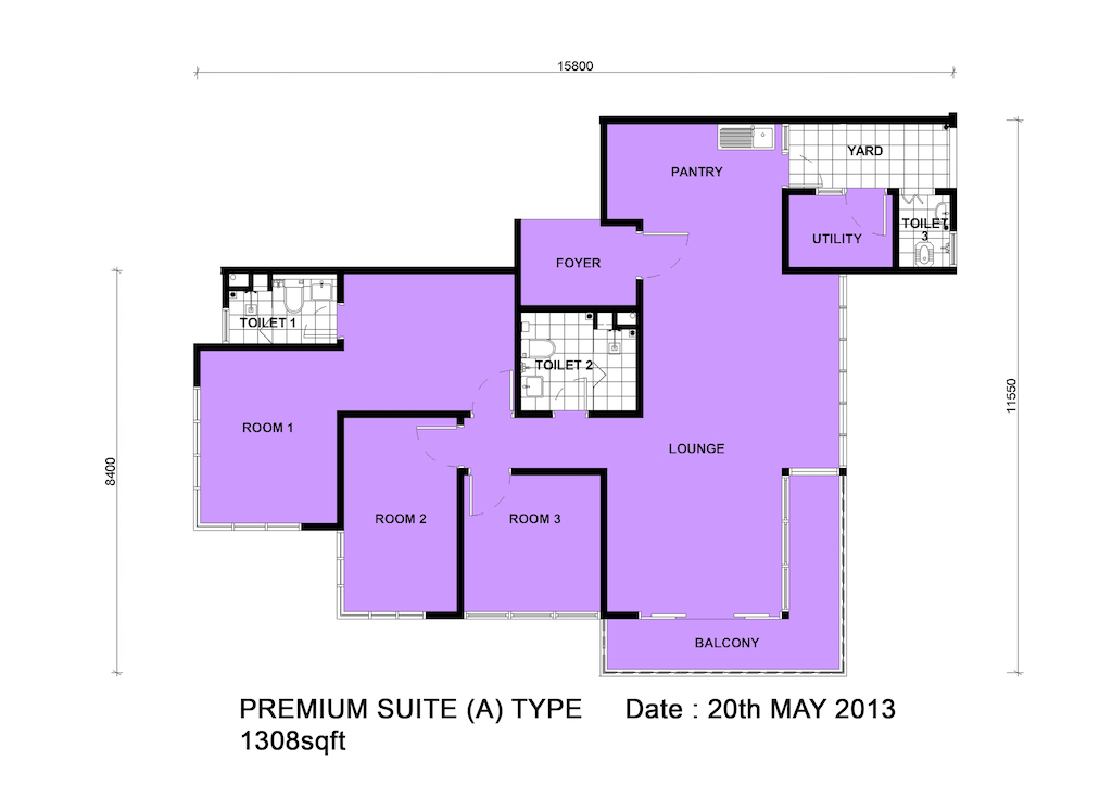 Dpristine-FLoor-Plan-3Bedroom