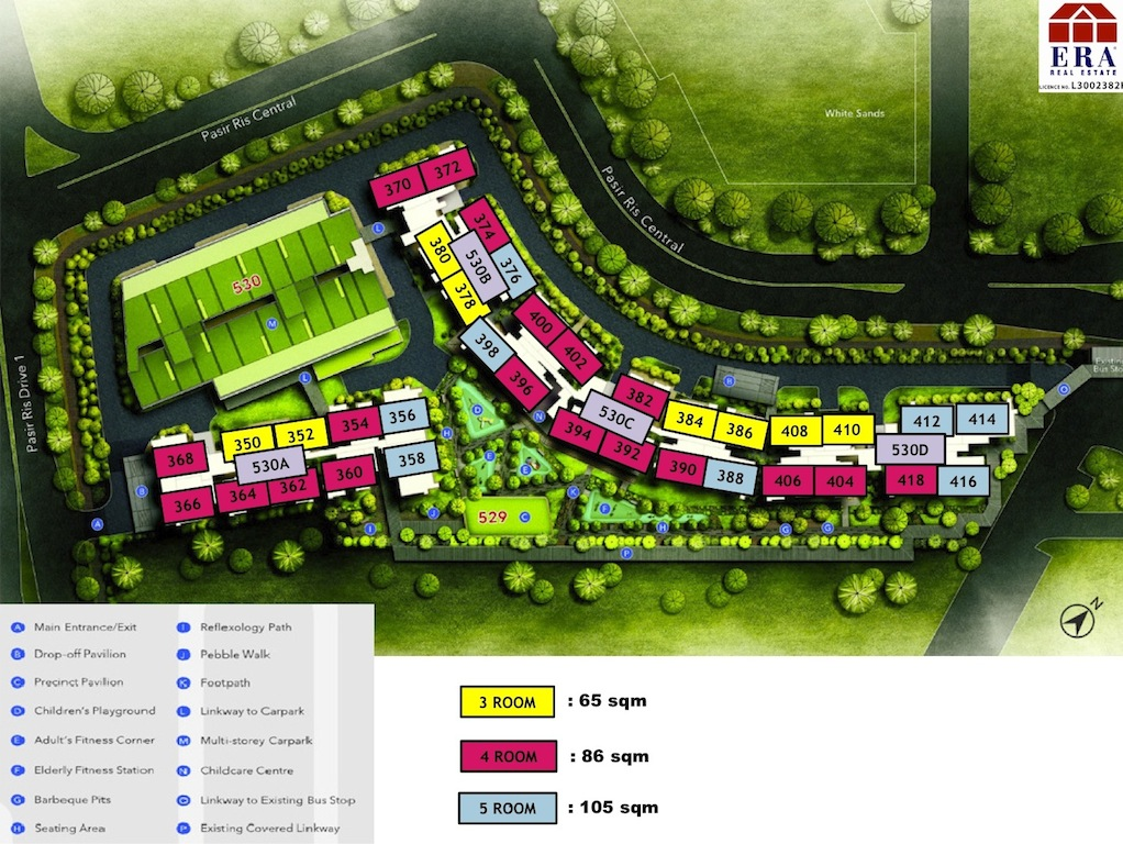 Pasir-Ris-One-Site-Plan