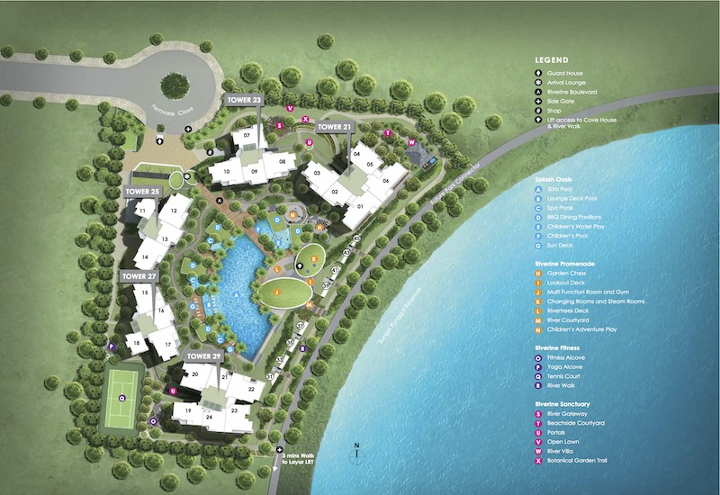 Rivertrees Residences Site Plan