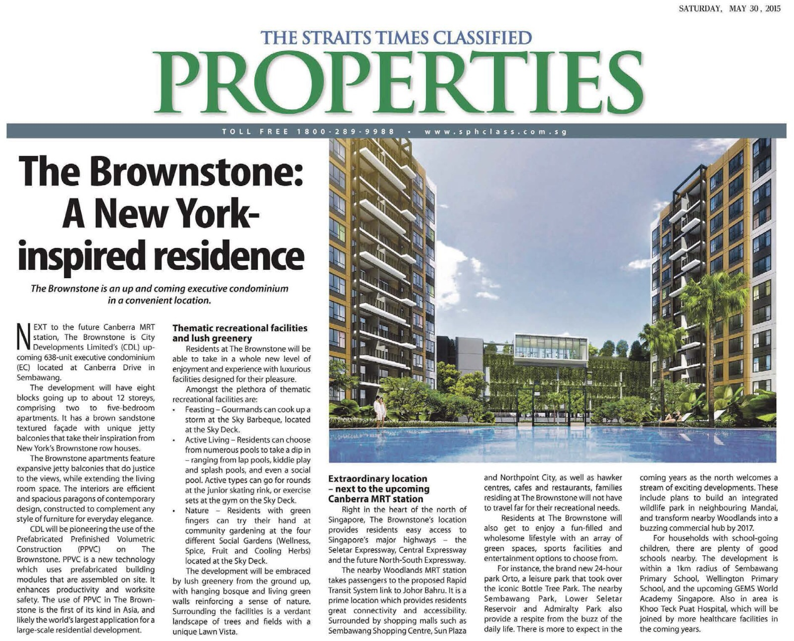 The Brownstone A New York Inspired Residences
