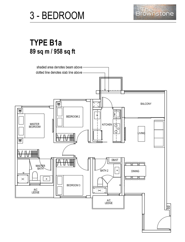 FloorPlan TypeB1a