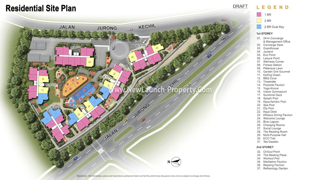 The Hillford Residential Site Plan