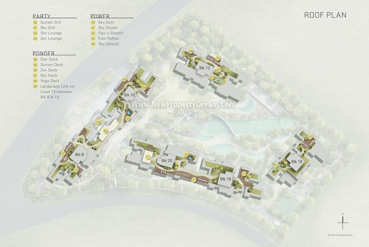 The Panorama Roof Terrace Plan