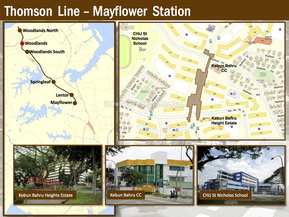 The Panorama Thomson Line Mayflower Station