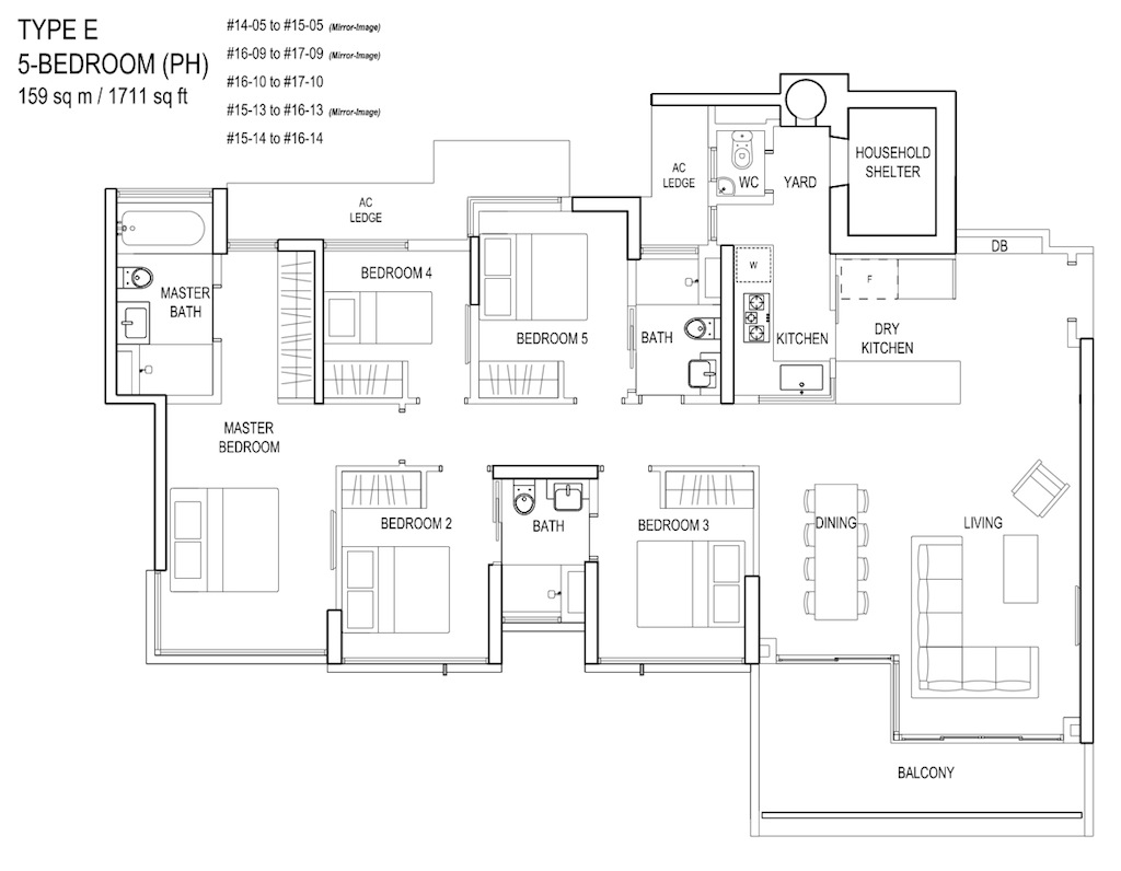 Floor-Plan-5bedroom TypeE