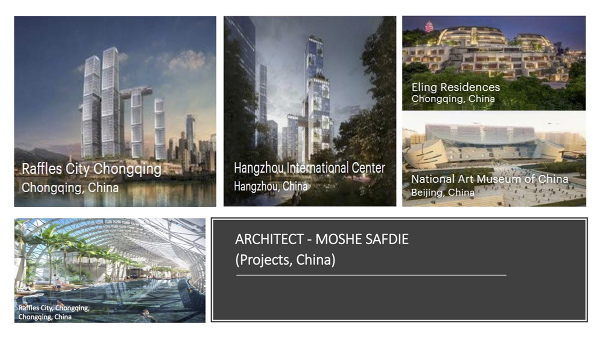 Architects China Moshe Safdie