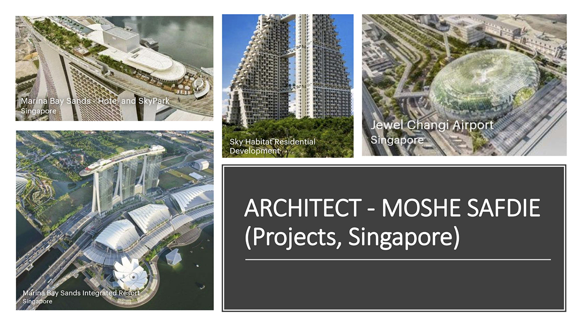 Architects Singapore Moshe Safdie