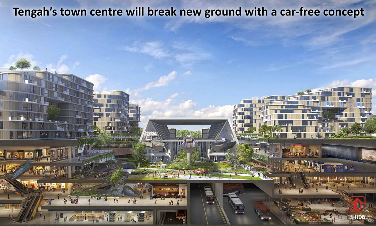 iNz Residence EC A2 Tengah Town Centre Carfree Concept