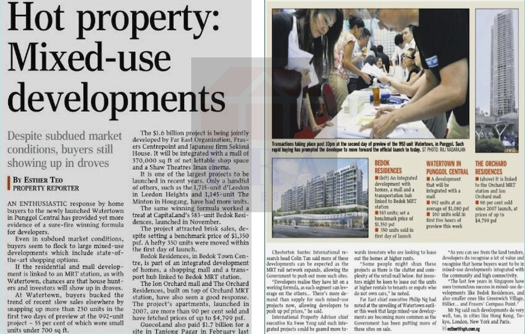 Article Hot Property Mixed-Use Development
