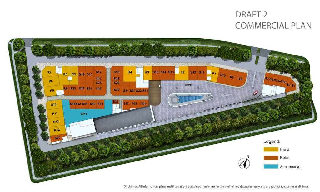 Kensington-Square-Commercial-Site-Plan