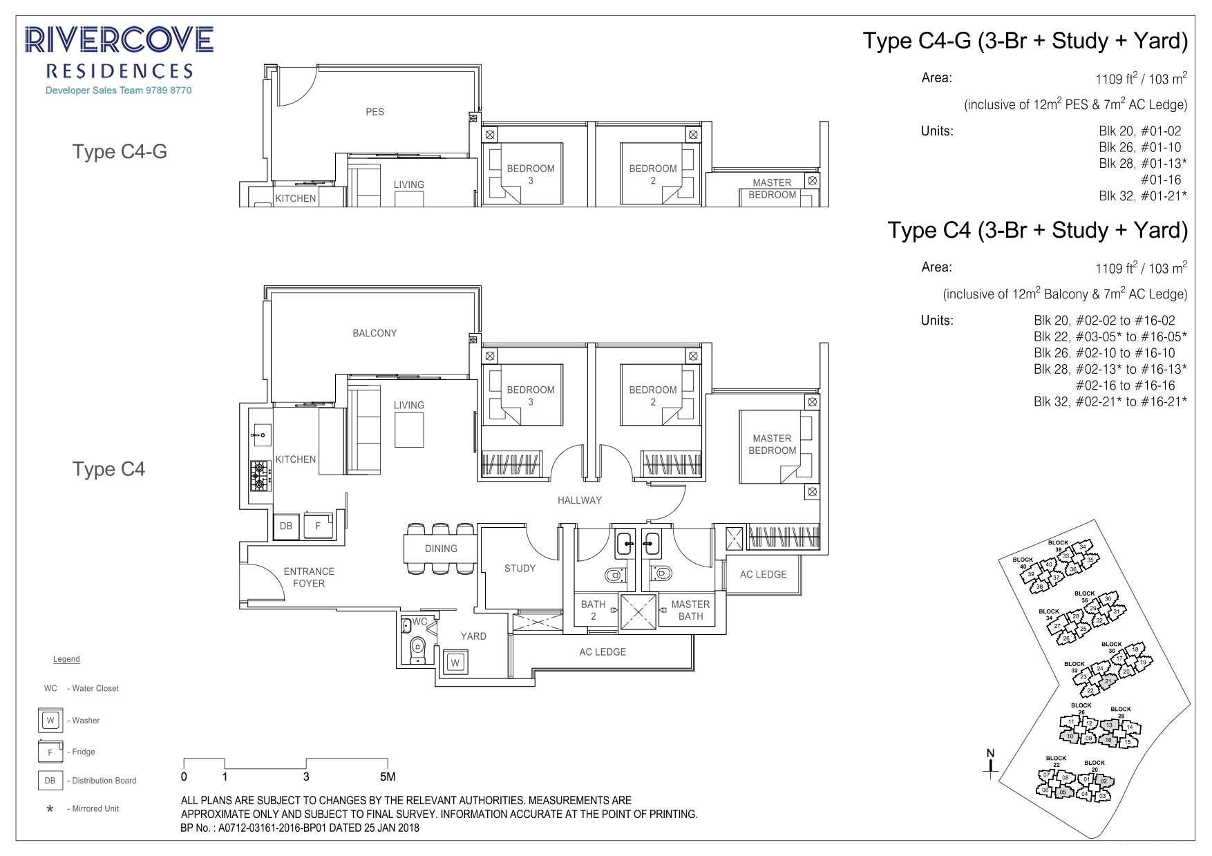 Rivercove Residences Floorplan Type C4