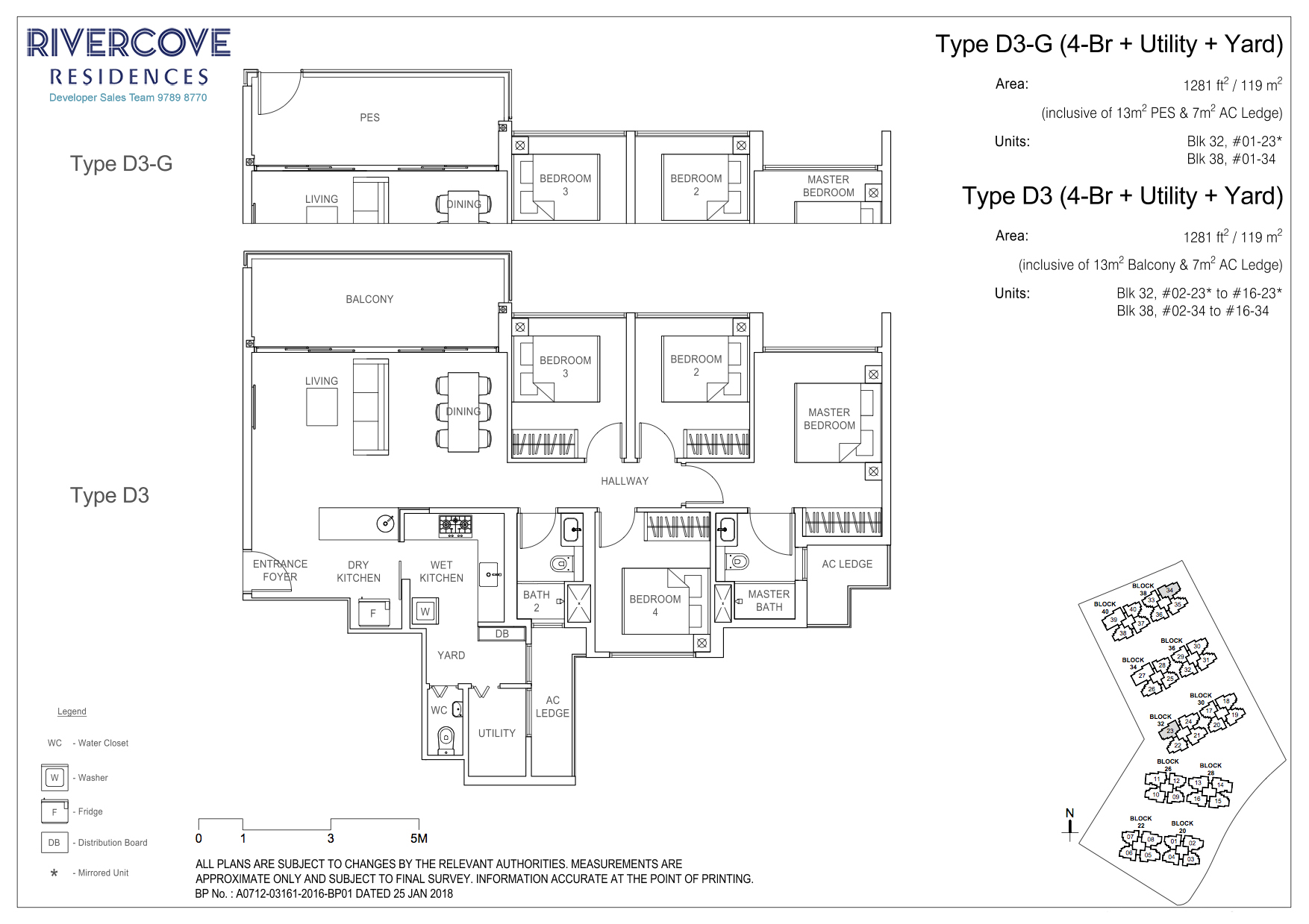 Rivercove Residences Floorplan Type D3