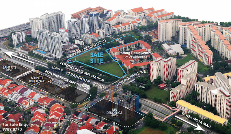 The Andrew Residences At Potong Pasir sale site