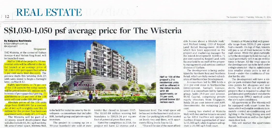 The Wisteria Article 1