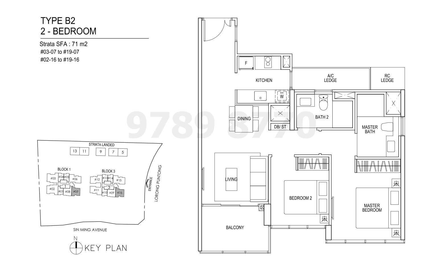 Thomson Impressions Floor Plan Type B2