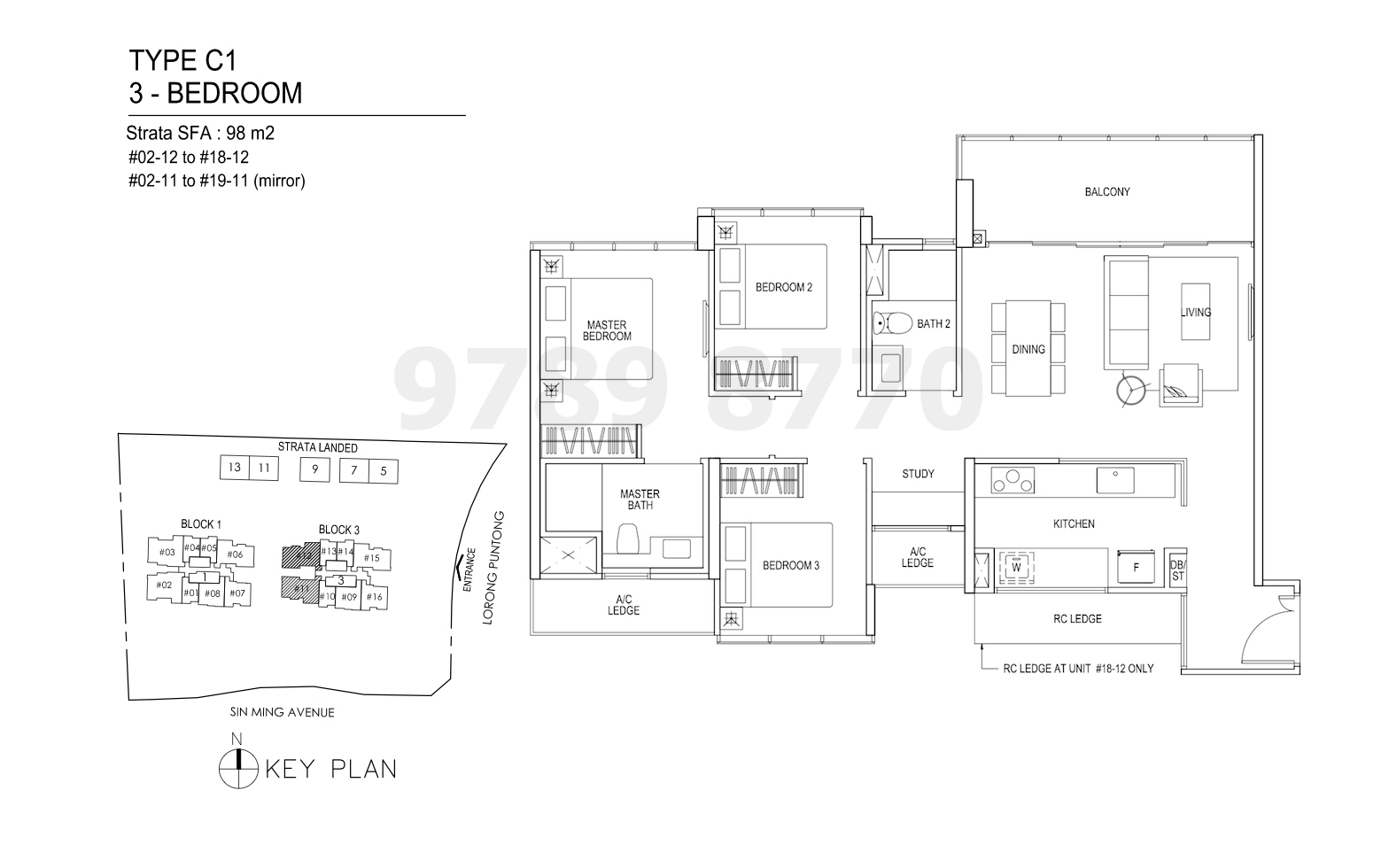 Thomson Impressions Floor Plan Type C1