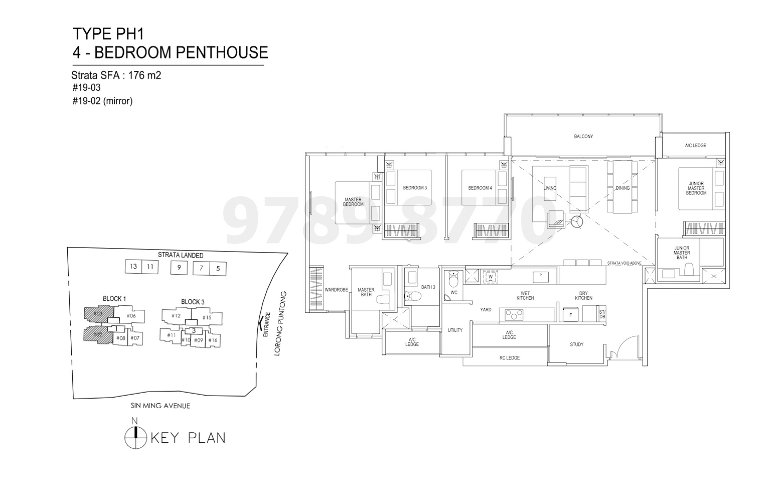 Thomson Impressions Floor Plan Type PH1