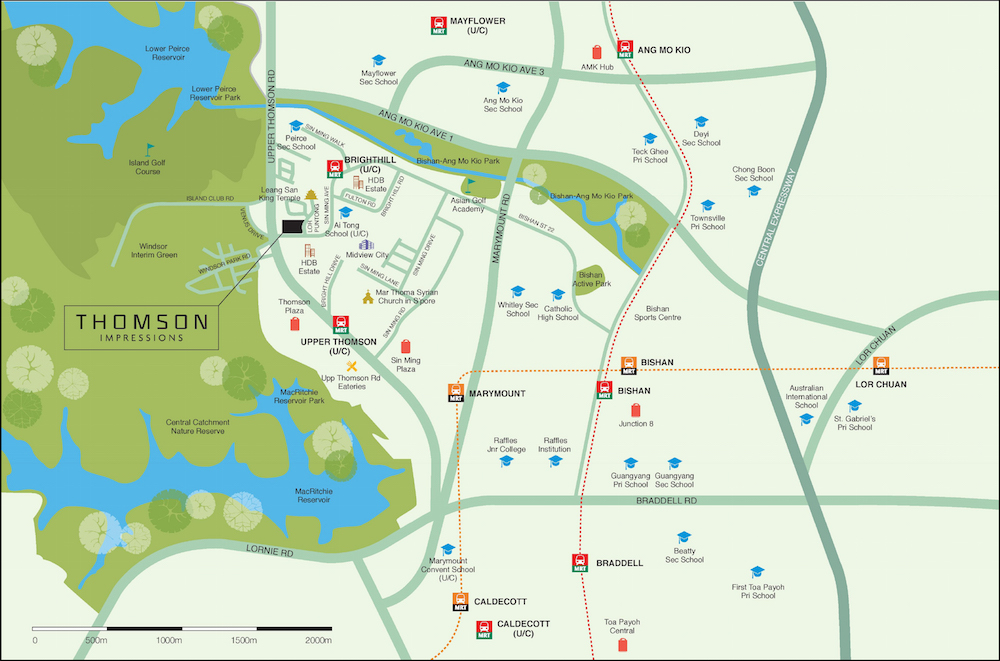 Thomson Impressions LocationMap